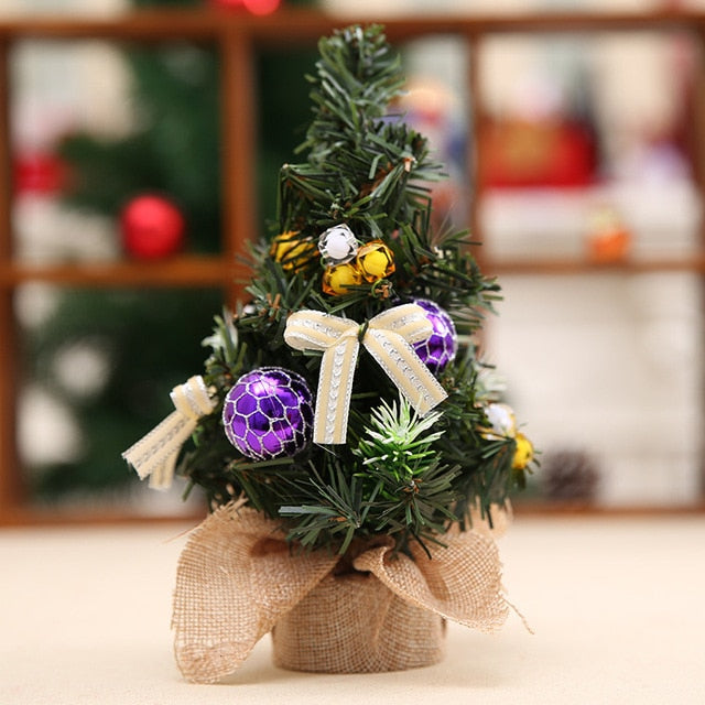 20cm Artificial Decorated Christmas Tree