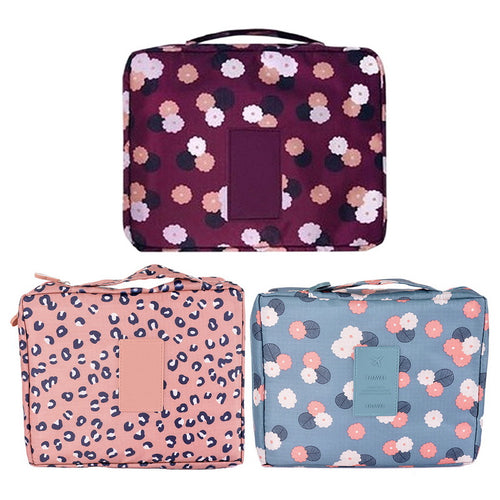 1PC Barrel Shaped Travel Cosmetic Bag