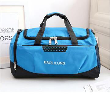 Waterproof Sports Gym Bag With Shoes Pocket
