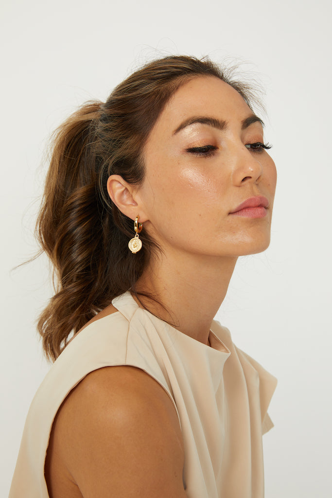PRETTY PENNY EARRINGS - ZEKA MANFRED