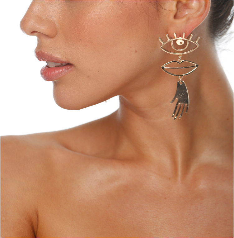 Occhi Earrings - ZEKA MANFRED