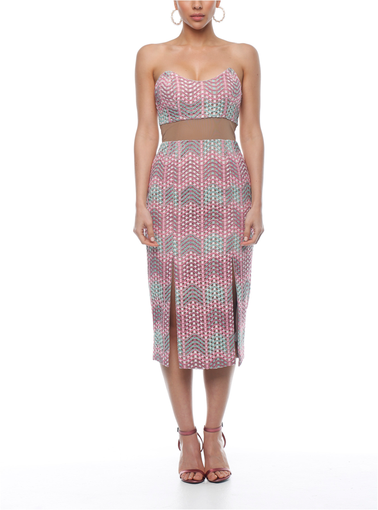 Miami Waves Dress - ZEKA MANFRED