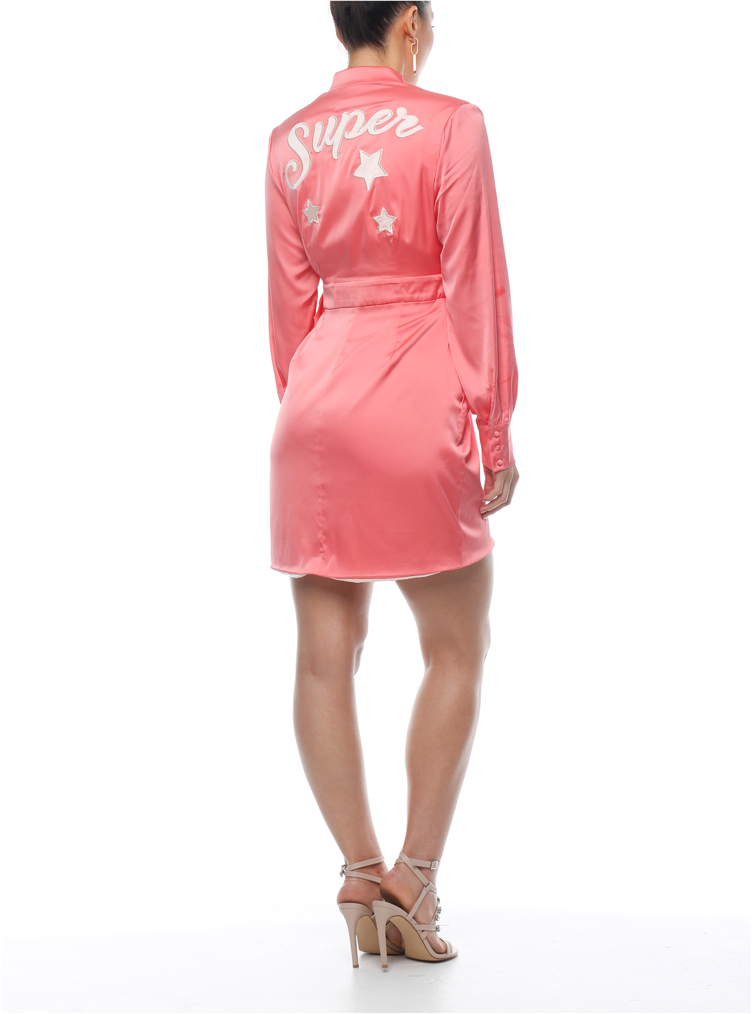 Superstar Wrap Dress - ZEKA MANFRED