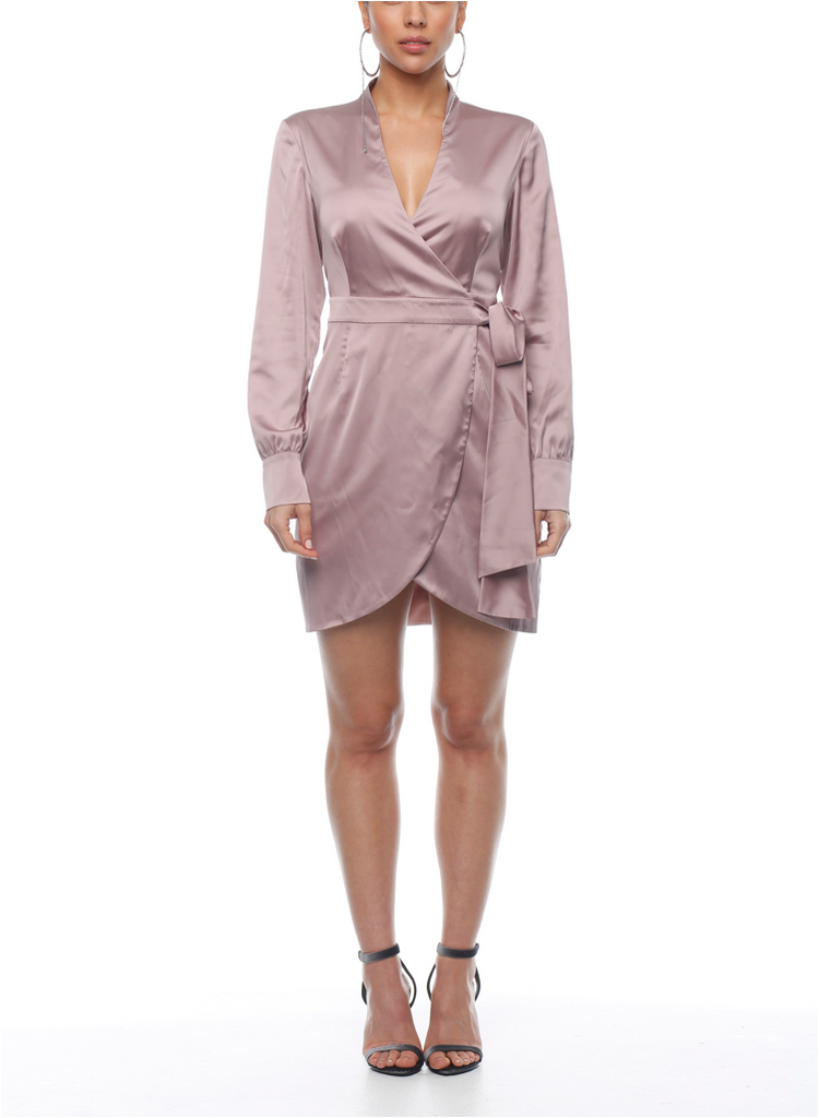 Wild Honey Wrap Dress - ZEKA MANFRED