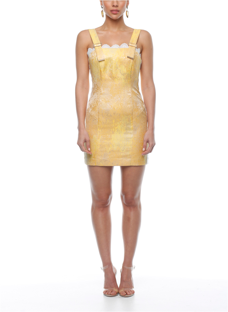 Suki Dress - Lemon Sorbet - ZEKA MANFRED