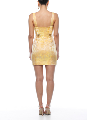 Suki Dress - Lemon Sorbet