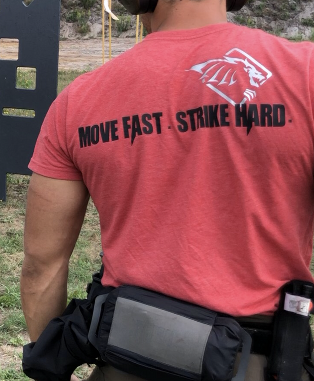 KST Shirt - Grey - Move Fast Strike Hard