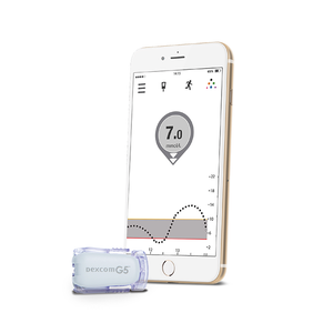 Dexcom G5 Mobile Starter Kit (No Receiver)