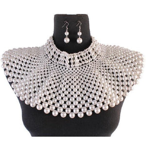 Full Collar Pearl Necklace