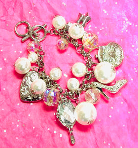 Pearl Charm Bracelet (SOLD OUT)