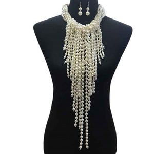 Full Chest Ivory Pearl Necklace (OUT OF STOCK)