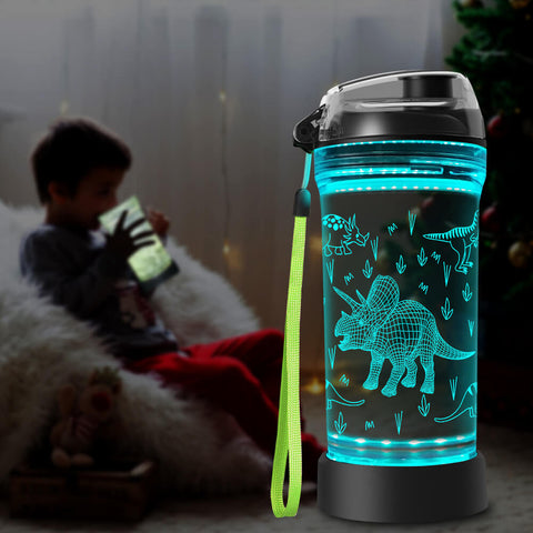Triceratops water bottle