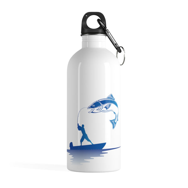 Fishing Stainless Steel Water Bottle