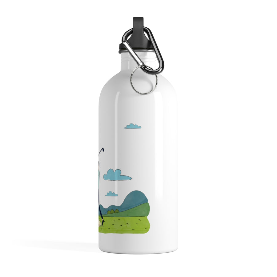 Golf Stainless Steel Water Bottle