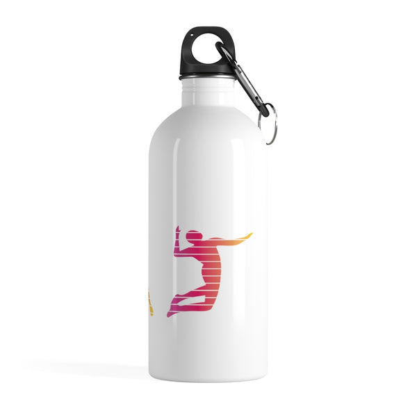 Volleyball Player Stainless Steel Water Bottle