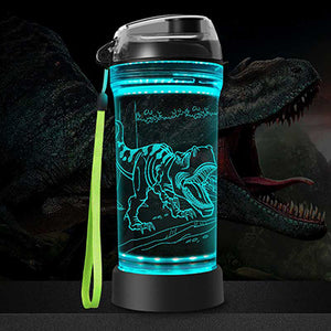 3D Glowing Water Bottle