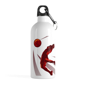 Slam Dunk Basketball Stainless Steel Water Bottle