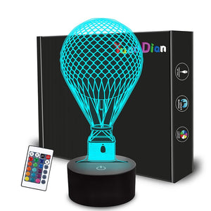 Hot Air Balloon 3D Illusion Lamp