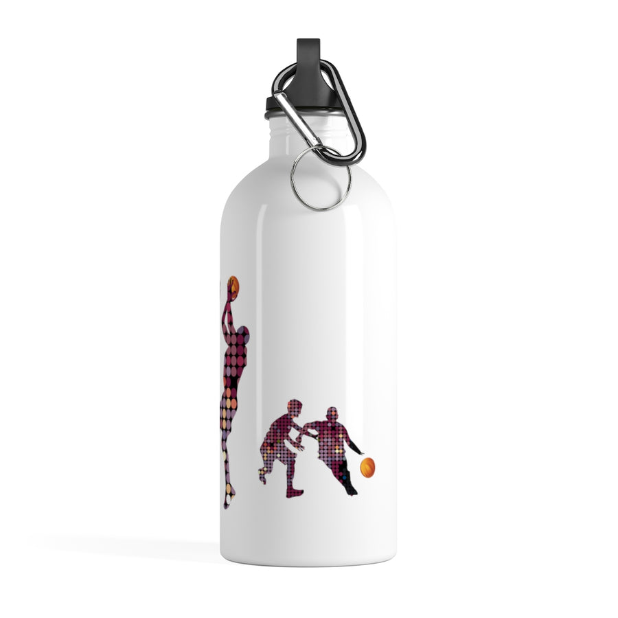 Basketball Shots Stainless Steel Water Bottle