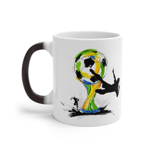 Soccer Color Changing Mug