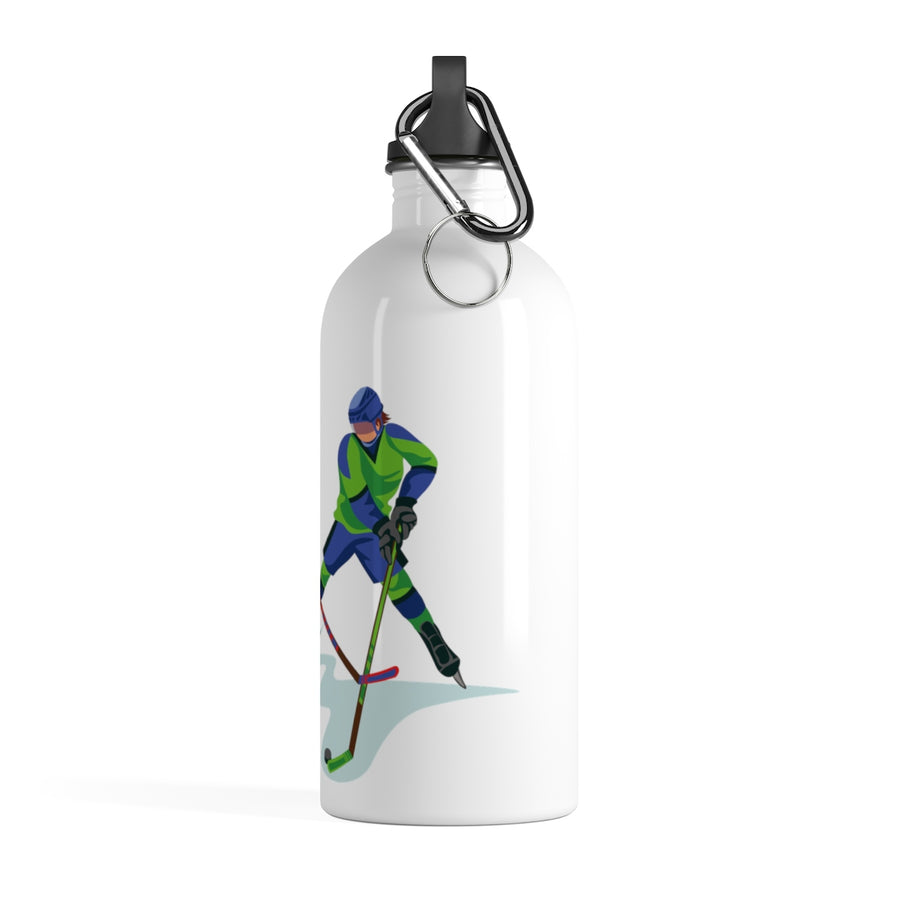 Ice Hockey Stainless Steel Water Bottle