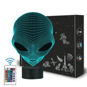 Alien 3D Illusion Lamp