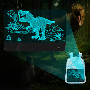 Dinosaur Glow in the dark backpack