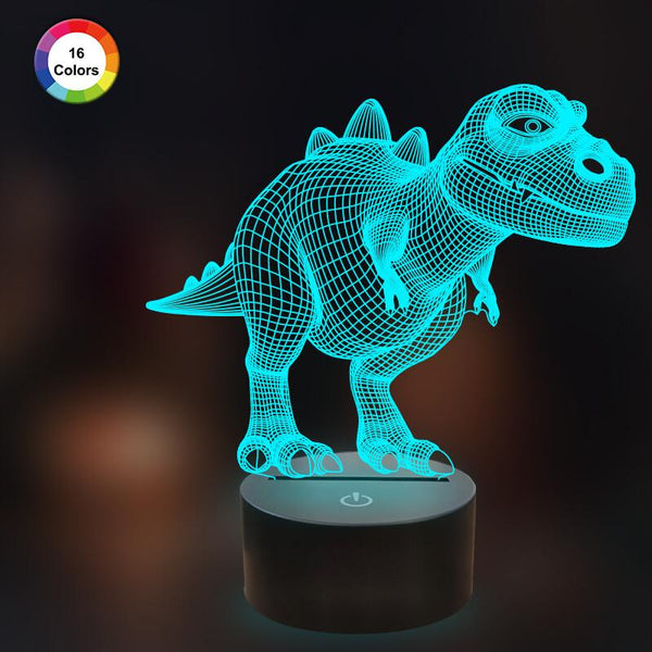 Dinosaur T REX 3D Illusion Lamp