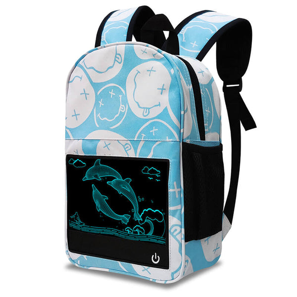 Dolphin Glow in the dark backpack