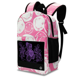 Teddy Bear Glow in the dark backpack
