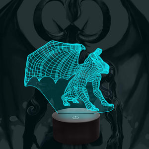 Vampire 3D Illusion Lamp