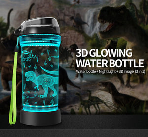 Walking T REX Water Bottle