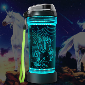 Winged Unicorn water bottle
