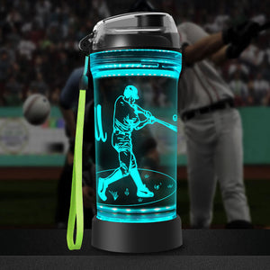 baseball water bottle