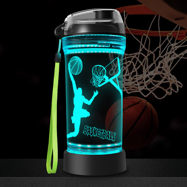 Basketball water bottle