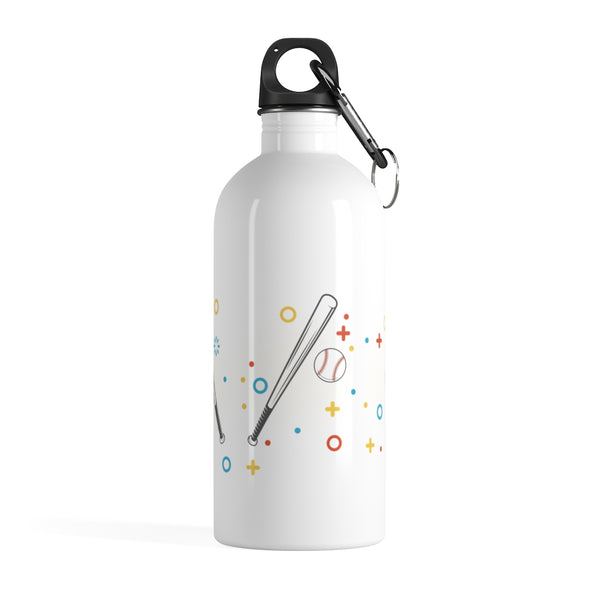 Baseball Stainless Steel Water Bottle