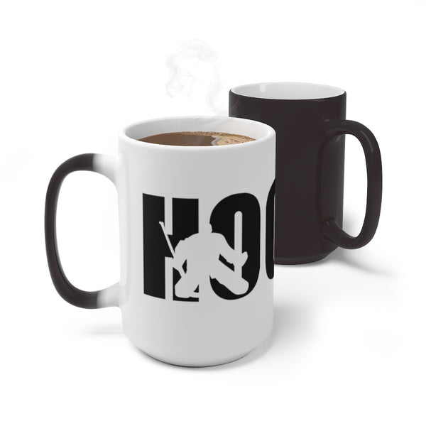 Hockey Color Changing Mug