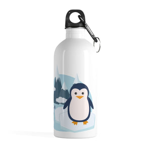 Penguins Stainless Steel Water Bottle