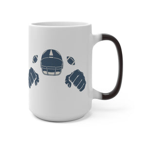 American Football Color Changing Mug
