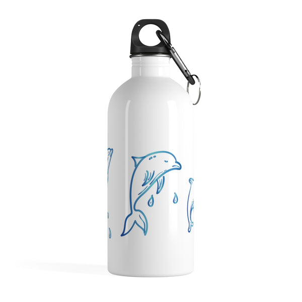 Jump Dolphin Stainless Steel Water Bottle