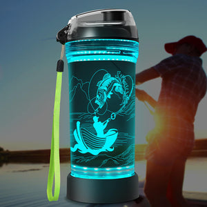 Fishing water bottle