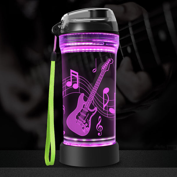 Guitar water bottle