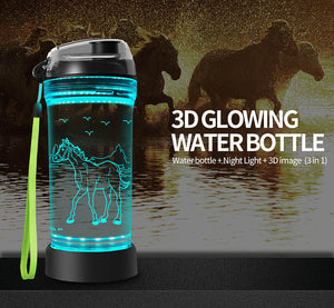 Horse water bottle