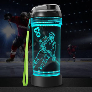Light up water bottle