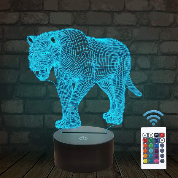 Lion 3D Illusion Lamp