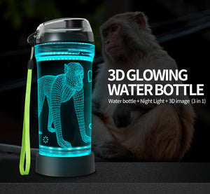 monkey water bottle