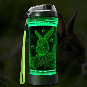 Rabbit water bottle