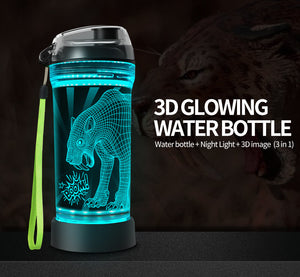 sabre-toothed tiger WATER BOTTLE
