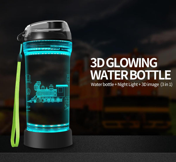 Train Water Bottle