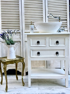 - ON HOLD - 'Leonas' Beachhouse Style Rustic Vanity